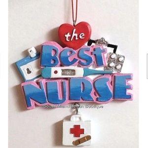 Nursing Wall Christmas Ornament Graduation Gift